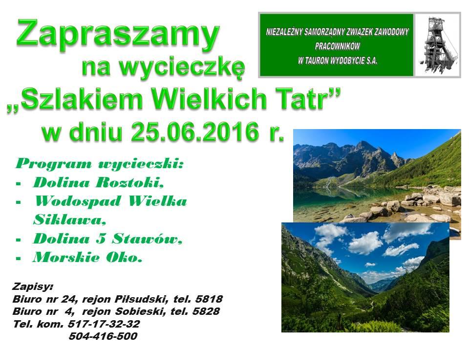 Imprezy - tatry 2016